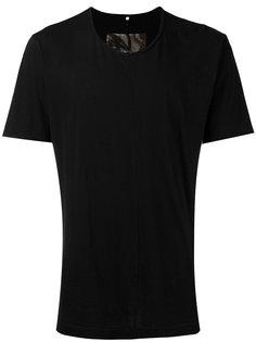 футболка с контрастной панелью Ziggy Chen