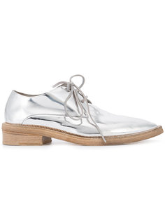 metallic lace-up shoes Marsèll