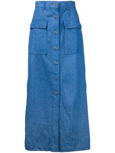 buttoned midi skirt Cityshop