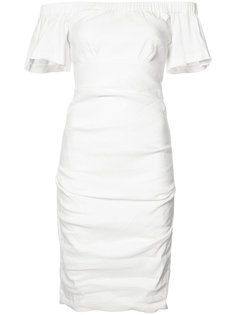 off-shoulders fitted dress Nicole Miller