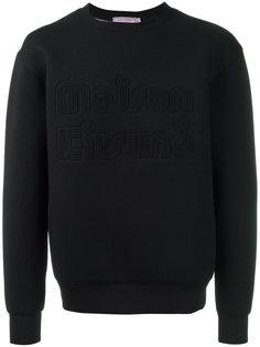 Maison Kitsuné embroidered sweatshirt Maison Kitsuné