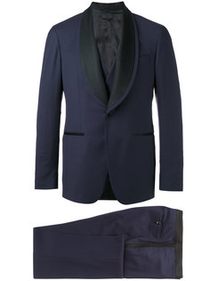 contrast lapel dinner suit Gabriele Pasini