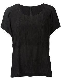 футболка с эффектом помятости Barbara I Gongini