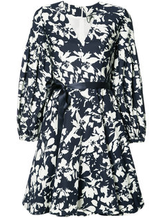 blossom print flared dress Alexis