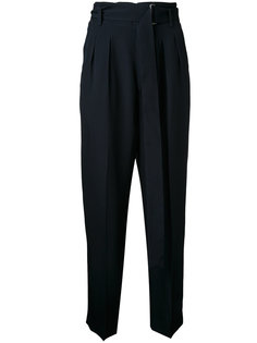 high-waisted cropped trousers Cityshop