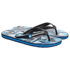 Вьетнамки Quiksilver Haleiwa Black/Blue/Green