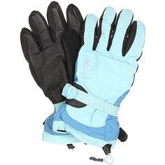 Перчатки сноубордические женские Marmot Piste Glove Blue Sky/Blue Jay