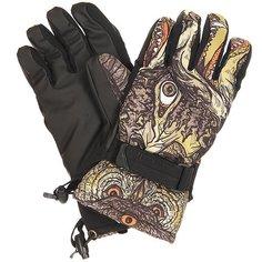 Перчатки сноубордические Pow Handicrafter Glove Sheets