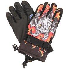 Перчатки сноубордические женские Pow Handicrafter Glove Quigg