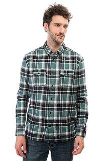 Рубашка в клетку DC Shoes Reedsbirg Ls Sea Pine