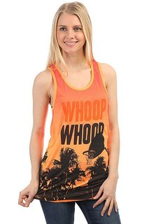 Майка женская K1X Whoop Whoop Paradise Tank Top Orange/Black