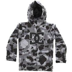 Куртка утепленная детская DC Story Yth Jkt Camouflage Lodge Gre