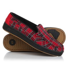 Мокасины Globe Castro Red Plaid