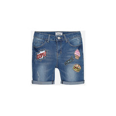 Бриджи джинсовые для девочки Mayoral