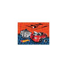 Пластиковая папка-конверт на кнопке для тетрадей, Hot Weels, Mattel Limpopo