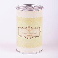 Свеча декоративная ароматизированная парафиновая с ароматом дыни, Феникс-Презент