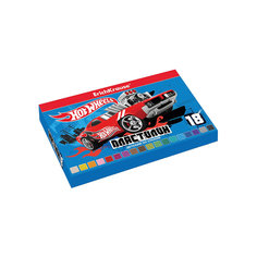 Пластилин 18 цветов Hot Wheels Super Car, 324г, со стеком Erich Krause