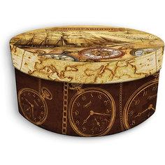 "Коробка подарочная ""Хронографы"", 14х14х7см., Феникс-Презент"
