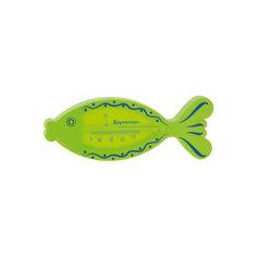 "Термометр для ванны ""Рыбка"", Kurnosiki, зеленый Курносики"