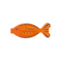 "Термометр для ванны ""Рыбка"", Kurnosiki, оранжевый Курносики"
