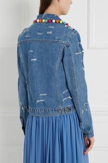 Куртка из денима Pon Pon Forte Couture