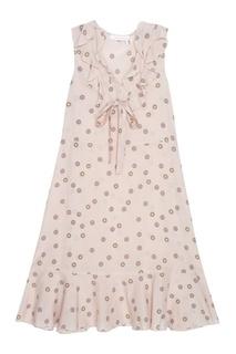 Платье с принтом See By Chloé
