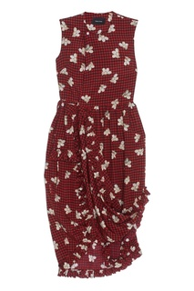 Шелковое платье Simone Rocha