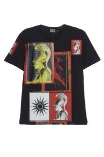 Хлопковая футболка Fausto Puglisi