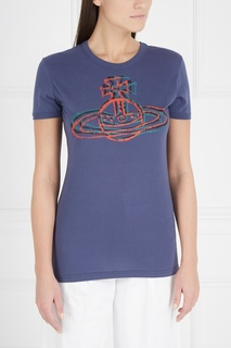 Хлопковая футболка Vivienne Westwood Anglomania