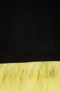 Хлопковая футболка с перьями No.21