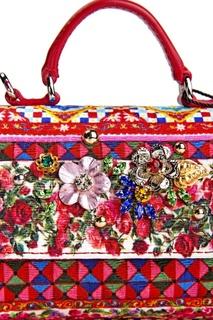 Сумка из хлопка и кожи Dolce&Gabbana Children