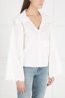 Хлопковая блузка See By Chloé