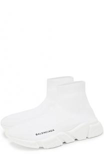Текстильные кроссовки на массивной подошве Balenciaga