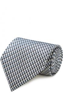 Шелковый галстук с узором houndstooth Tom Ford