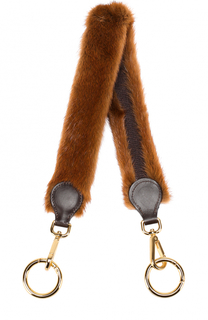 Ремень для сумки Furrissima из меха норки Simonetta Ravizza
