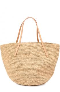 Плетеная сумка Kapity medium из рафии Sans-Arcidet