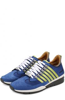 Комбинированные кроссовки 251 на шнуровке Dsquared2