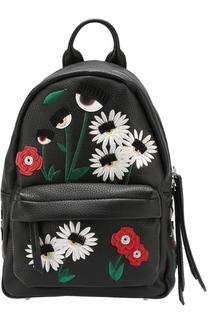 Рюкзак Flirting с вышивкой в виде цветов Chiara Ferragni