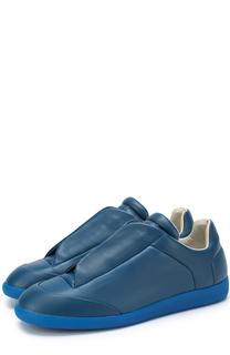 Кожаные кеды Future со скрытой шнуровкой Maison Margiela