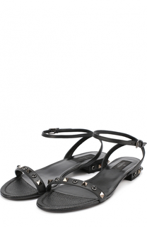 Кожаные сандалии Rockstud Rolling Valentino
