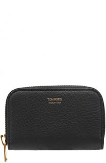 Кожаное портмоне на молнии Tom Ford