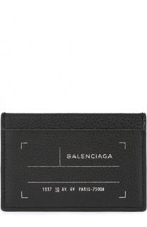 Кожаный футляр для кредитных карт Balenciaga