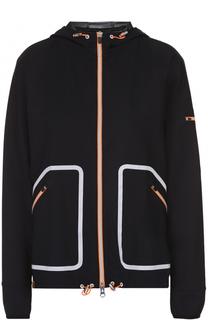 Спортивная куртка на молнии с контрастной отделкой Monreal London