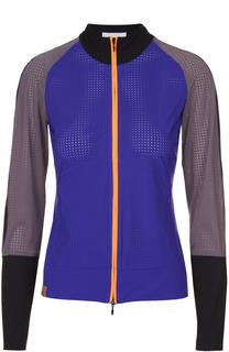 Перфорированная спортивная куртка на молнии Monreal London