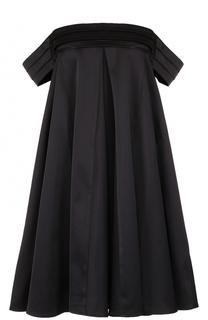 Платье свободного кроя с открытыми плечами Edit