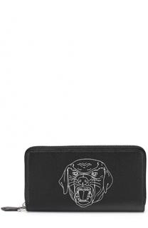 Портмоне на молнии с отделениями для кредитных карт и монет Givenchy