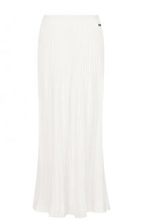 Вязаная плиссированная юбка-миди Escada Sport