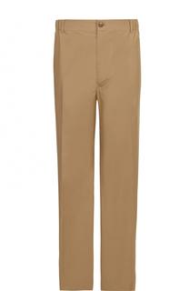 Хлопковые брюки свободного кроя с заниженной талией Stella McCartney