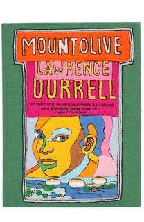 Клатч в виде книги с аппликацией Mountolive Olympia Le-Tan