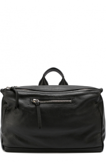 Кожаная сумка Pandora с плечевым ремнем Givenchy